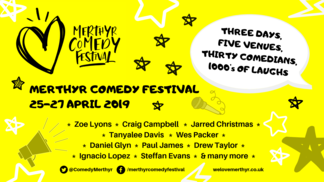 Portrait big thumb merthyr comedy festival facebook event cover